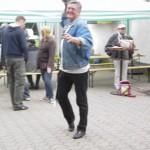 Und Harry mit Handball! Zwei große Talente....;-)))