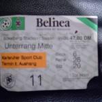 Borussia-KSC 1999-00