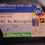 KSC-Borussia 1997-98