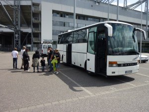 Endlich am Borussia Park angekommen
